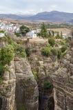 Canyon in Ronda, Spain Stock Photos