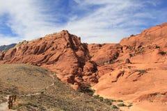 Canyon rossi della roccia fotografie stock
