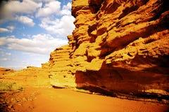Canyon rosso Immagine Stock Libera da Diritti