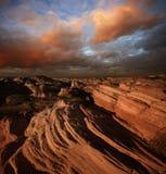 Canyon rosso della roccia Fotografie Stock Libere da Diritti