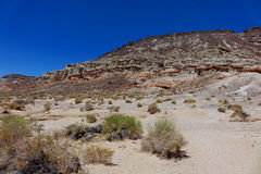 Canyon rosso della roccia - California Fotografie Stock Libere da Diritti
