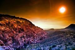 Canyon rosso della roccia, Nevada fotografia stock libera da diritti