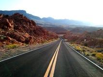 Canyon rosso Las Vegas della roccia immagini stock