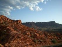 Canyon rosso Las Vegas della roccia fotografie stock libere da diritti