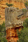 Canyon rosso variopinto nell'Utah Immagini Stock