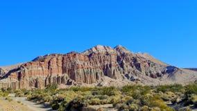 Canyon rouge de roche Photo stock
