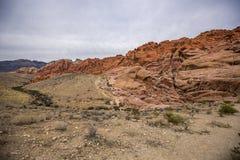 Canyon rouge de roche Photos stock