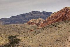 Canyon rouge de roche Image libre de droits