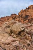 Canyon rouge de roche Images stock