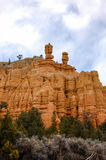 Canyon rouge, Dixie National Forest, Utah Photos stock