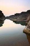 Canyon. Sampanbok Grandcanyon of Thailand Royalty Free Stock Images