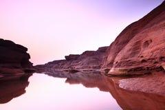 Canyon. Sampanbok Grandcanyon of Thailand Stock Photos