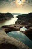 Canyon. Sampanbok Grandcanyon of Thailand Royalty Free Stock Photo