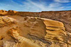 Canyon  sand desert landscape Stock Photos