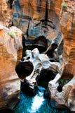 Canyon sanguinante del fiume Immagini Stock Libere da Diritti
