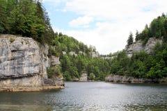 Canyon of Saut du Doubs Stock Images