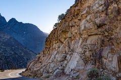 Canyon Scenic Byway国王 库存图片