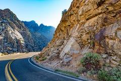 Canyon Scenic Byway国王 库存照片