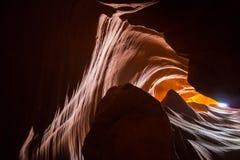 Canyon Shadows Stock Images