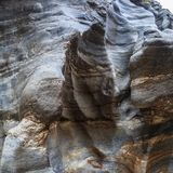 Small canyon Royalty Free Stock Photography