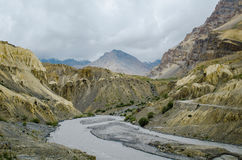 Canyon of Spiti Royalty Free Stock Photography