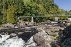 Canyon St Anne nel Canada immagini stock libere da diritti