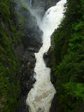 Canyon St. Anne waterfall Royalty Free Stock Photos