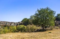 A canyon stones. View of Aktovskiy Canyon, Nikolaev region, Ukraine Stock Photos