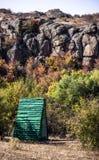 A canyon stones Royalty Free Stock Photo