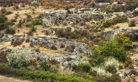 Canyon stones Stock Photography