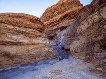 Canyon stupefacente del mosaico al parco nazionale California di Death Valley Immagini Stock