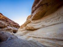 Canyon stupefacente del mosaico al parco nazionale California di Death Valley Fotografie Stock