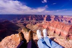 Canyon sublime del punto grande Fotografie Stock