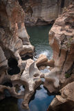 Canyon Sudafrica del fiume di Blyde fotografia stock