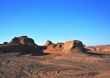 Canyon sul deserto Fotografia Stock Libera da Diritti