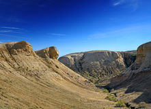 Canyon sul plateau Shalkar-Nura Immagini Stock