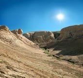 Canyon sulle montagne Shalkar-Nura Fotografia Stock