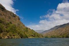 Canyon Sumidero, Chiapas, Mexico. View of Famous Canyon Sumidero, Chiapas, Mexico Stock Photography