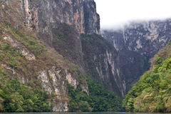 Canyon Sumidero, Chiapas, Mexico Stock Images