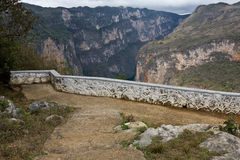 Canyon Sumidero, Chiapas, Mexique Image libre de droits
