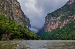Canyon of Sumidero, Mexico Stock Photography