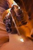 Canyon supérieur d'antilope en page, Arizona, Etats-Unis Images stock