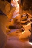 Canyon supérieur d'antilope en page, Arizona, Etats-Unis Image libre de droits