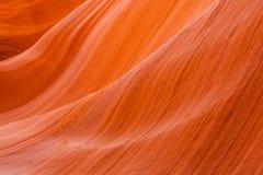 Canyon supérieur d'antilope, page l'utah Photos stock
