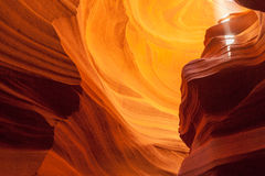 Canyon superiore dell'antilope, pagina l'utah Fotografia Stock Libera da Diritti
