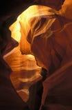 Canyon superiore della scanalatura dell'antilope Fotografia Stock