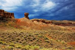 Canyon Temirlik, Kazakhstan Royalty Free Stock Images