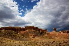 Canyon Temirlik, Kazakhstan Stock Photo