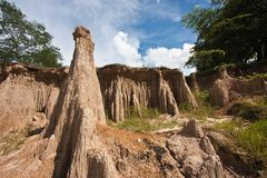 Canyon in Thailand Stock Photography