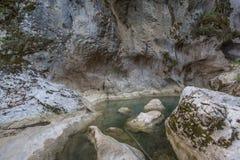 Canyon Turquie de Horma Photos libres de droits